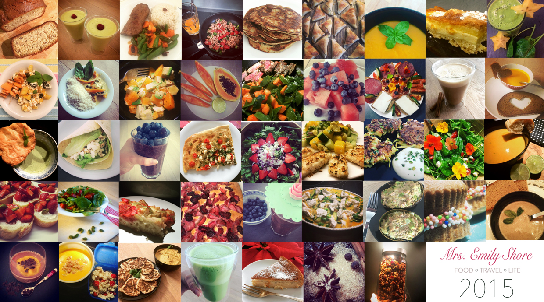 Jahresrückblick 2015 Mrsemilyshore Foodblogger